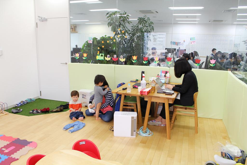 株式会社スタイル・エッジの保育スペース「わ~ママ Style Kids」